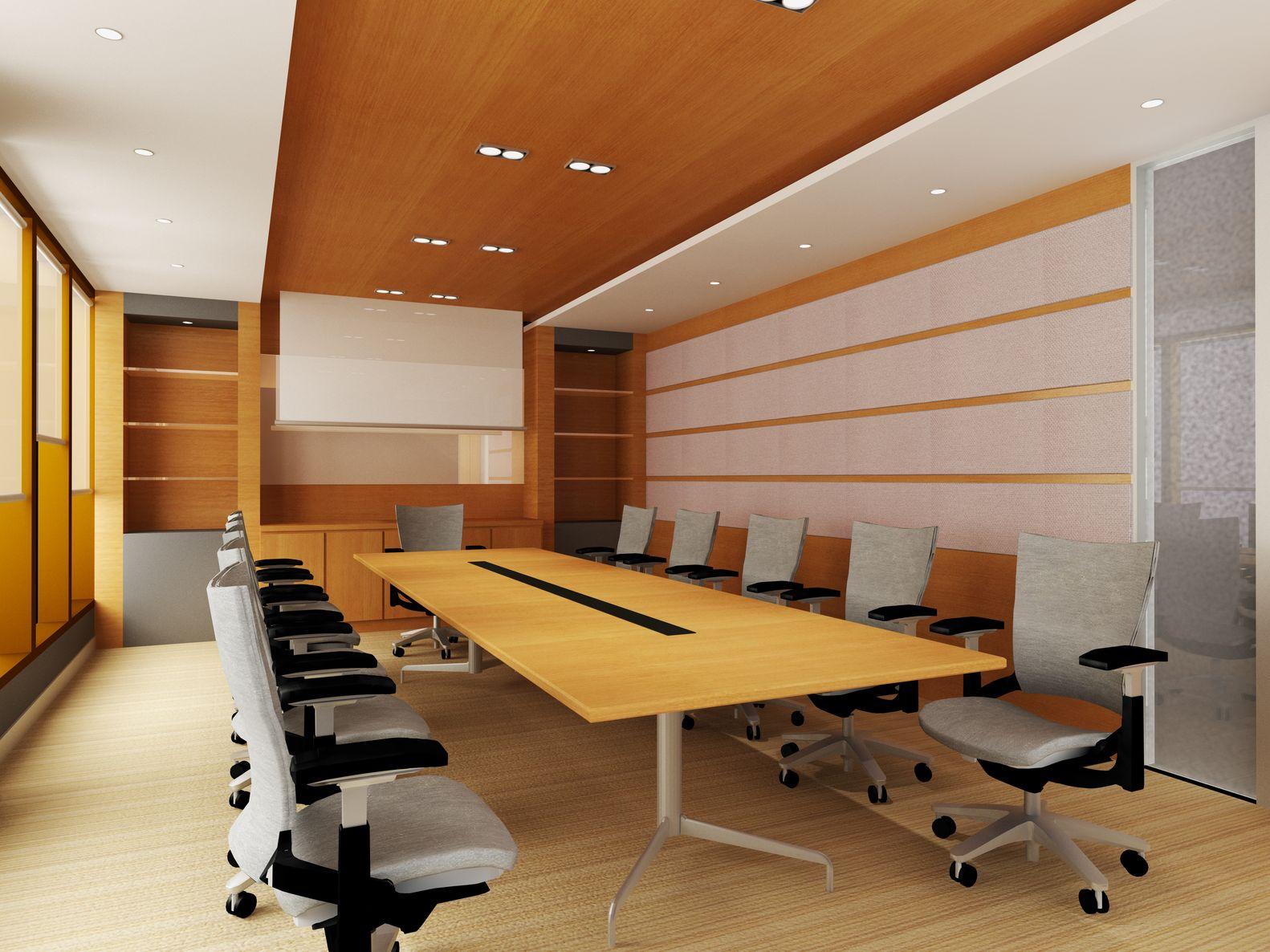 משרד לאחר ניקיון יסודי